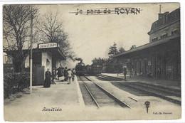 ROYAN (17) - La Gare - Amitiés - Ed. Coll. Ch. Roulaud - Royan