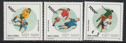 VIETNAM - N°1769/71 ** (1998) Coupe Du Monde De Football - Vietnam