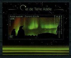 TAAF 2020  N° F923 ** ( 923 ) Neuf MNH Superbe Paysage Ciel De Terre Adélie Manchots Aurore Australe - Nuovi