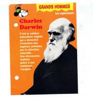 Fiche Mickey  Darwin - History