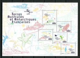 TAAF 2020  N° F953 ** Neufs MNH Superbes Districts Iles Eparses Crozet Faune Oiseaux Birds Manchots Flore Bateaux Ships - Nuovi