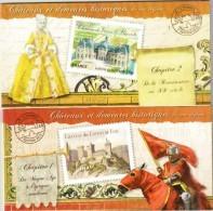 France 2012 Carnet  Châteaux Et Demeures Historiques De Nos Régions - Chapitre1 Et 2 Neuf - Bc714 Et Bc726 - Commemoratives