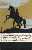 RUSSIA - ST PETERSBOURG - STATUE SUR LE PONT ANITCHKOV - ILLUSTRATOR L. LUSKING - ED. RICHARD - 1905 - Rusia