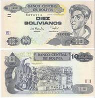 Bolivia 10 Bolivianos 2005 Serie G P 228 UNC - Bolivia