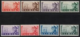 Libia Fratellanza Italo Tedesca Serie Completa Con Posta Aerea MNH** Cv 130 - Libye