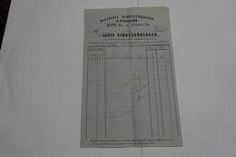 LA VILLETTE  --STRASBOURG    -- FRANCIA - LOUIS  SCHUTZENBERGER -- BRASSERIE  SCHUTZENBERGER - 1800 – 1899