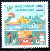 France  2018. Nous Sommes La Biosphère. We Are The Biosphere. UNESCO MNH - Ungebraucht