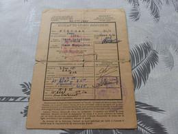 CA-67 , Extrait Individuel , 17e Bataillon Du Génie , 1951 - Documents