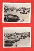 Autodromo Monza Auto Alfa Romeo DUETTO In P.p. 2 Foto Anni 60/70 1° Tipo Cars Auto Voitures Automobiles Wagen - Cars