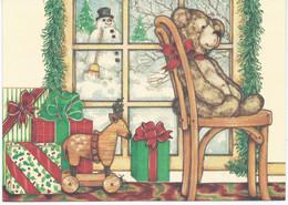 DOUBLE POSTCARD - Teddy Bear - Sonstige
