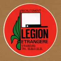 """SRASBOURG  (67) : """" LEGION ETRANGERE """" - Stickers"""