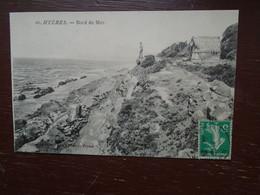 "Hyères , Bord De Mer """" Carte Animée """" - Hyeres"