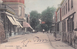 48569Baarn, Nieuwstraat. (Poststempel 1904) - Baarn