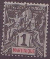⭐ Martinique - YT N° 31 ** - Neuf Sans Charnière - 1892 ⭐ - Nuevos