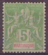 ⭐ Martinique - YT N° 44 ** - Neuf Sans Charnière - 1899 / 1906 ⭐ - Nuevos