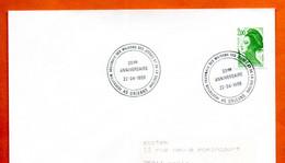 45 ORLEANS   MAISONS DES JEUNES  1989  Lettre Entière N° MNO 199 - Commemorative Postmarks