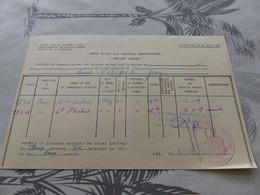 CA-83 , Base Ecole Des Troupes Aéroportées , Services Aériens, 1956, Cachet Rouge Troupes Aéroportés - Documents