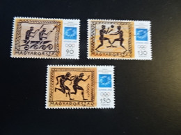 P719 - Set Used Hungary 200' - Olympics Athens - Summer 2004: Athens