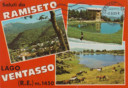 Saluti Da... RAMISETO. VENTASSO. Lago. .  . 4 Xxx - Reggio Nell'Emilia