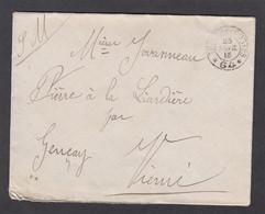 LETTRE DU SP 94 POUR GENCAY,1916. - Guerre De 1914-18