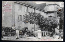 Mandeure Valentigney étabt Vurpillot Vins Spiritueux Motocyclette CAD 1913 Fougerolles Lemercier Très Rare Voir Explic - Other Municipalities