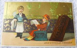 CHROMO SUCHARD  Serie 1    Voila Le Chocolat De Monsieur - Suchard