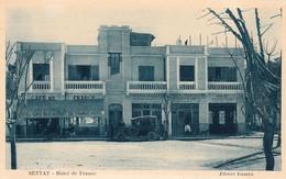 SETTAT (Maroc) - Hôtel De France -  Cpa Vierge  - Très Bon état - Altri