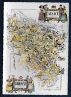 Carte Géographique - Alsace - Lorraine - Landkarten