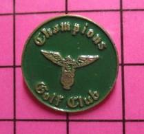 411b Pin's Pins / Beau Et Rare / THEME : SPORTS / CHAMPIONS GOLF CLUB Cet Aigle N'est Pas Du Meilleur Goût ! - Golf