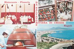 Cartolina - Ristorante Pizzeria Da Salvatore - Riviera Di Chiaia - Napoli - 1965 - Napoli (Napels)
