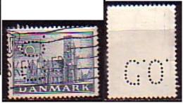 DENMARK - 1936 - 400ans De L'Eglise Reforme - 30 Ore - Perfinee -  Mi 232 - Gebruikt