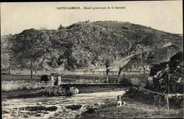 CPA Sauxillanges Puy De Dôme, Massif Granitique De Saint Quentin - Other Municipalities