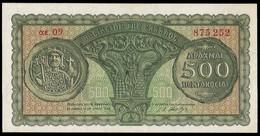 Greece (Kingdom Of Greece) - Ministry Of Finance, 500 Drachmai 10.7.1950 (B0323) - Greece