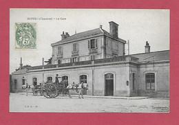 16 - RUFFEC La Gare - Ruffec
