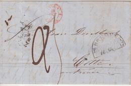 ALLEMAGNE : . BREME . MP . TAXEE . POUR LA FRANCE . 1847 . - Bremen