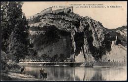 Besançon Le Doubs à Casamène La Citadelle Animée écrite 15 Juin 1916 TB - Besancon