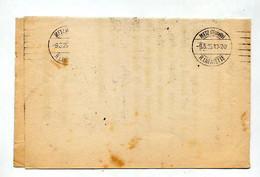 Lettre Franchise Cachet Metz1925 - Manual Postmarks