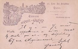 281290Paris, Taverne Du Petit Poucet 42, Rue Le Peletier 1901 - Cafés, Hotels, Restaurants