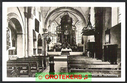ELTEN Interieur Abdijkerk Hoog-Elten. Vóór De Verwoesting 1962 - Altri