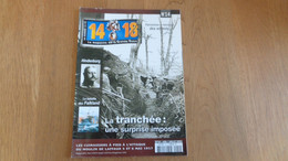 14 18 Le Magazine De La Grande Guerre N° 14 Falkland Hidenburg Cambrésis Enfant Occupation Allemande Artisanat Tranchée - Guerre 1914-18