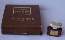 PATOU  ***   Ancienne Version *** Miniature 1000  Parfum 2 Ml Pleine Boite - Mignon Di Profumo Donna (con Box)