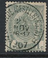 Nr  53  Met Stempel  Beirvelde (destelbergen) - 1893-1907 Armarios