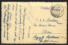 Postkarte Gebühr Bezahlt Feldkirch (Vorarlberg) 14.1.48 - 1945-60 Brieven