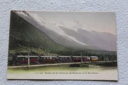 Chemin De Fer électrique De Chamonix Et Le Mont Blanc, Haute Savoie 74 - Chamonix-Mont-Blanc
