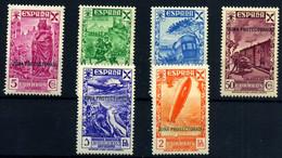 Marruecos Español (Beneficencia) Nº 7/12. Año 1938 - Spanish Morocco