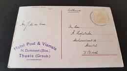 Viamala - Stempel Hotel Post & Viamala Thusis - Sin Clasificación