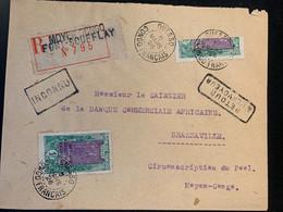 Lettre Recommandée Retour à L'envoyeur 1926 Fort Soufflay Demi Timbre - Used Stamps