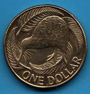 NEW ZEALAND 1 DOLLAR 2010 KM#  120 KIWI QEII - New Zealand