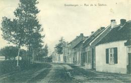 Dendermonde Grembergen - Rue De La Station - Grootzand - 1908 - De Graeve 13484 - Dendermonde
