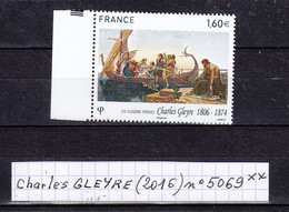 France Série Artistique: Charles GLEYRE (2016) Y/T N° 5069 Neuf ** - Nuovi